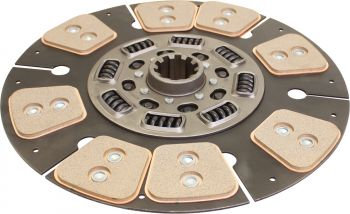 Remanufactured Front Clutch Disc, Heavy Duty 8 Pad