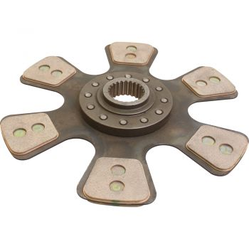 Clutch Disc, 6 Pad for Massey Ferguson® Tractor, 3039683M94