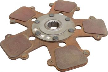 Remanufactured Clutch Disc, HD 6 Pad