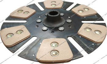 Clutch Disc, Heavy Duty 6 Pad