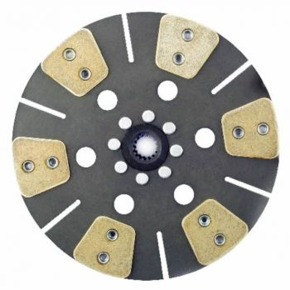Remanufactured Clutch Disc, 6 Pad