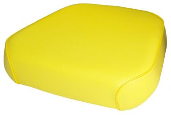 Seat Cushion, Yellow Vinyl