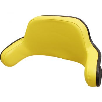 Seat Back, Yellow Vinyl for John Deere® Tractor, JD2940B