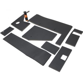 Upholstery Kit, Black for John Deere® Combine