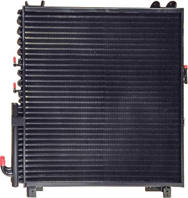 Hydraulic Oil Cooler with Fuel Cooler