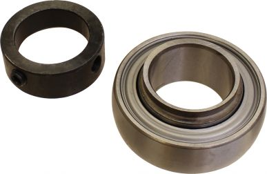 Flanged Bearing with Lock Collar
