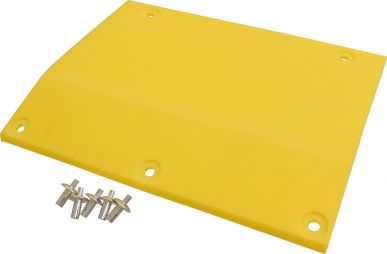 Poly Skid Plate, Left End