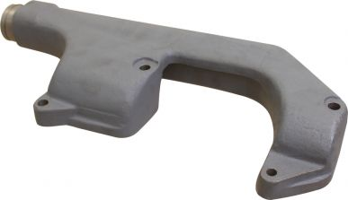 Exhaust Manifold, Rear Section