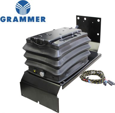 Grammer Air Suspension Conversion Kit for John Deere Tractors - Angle View