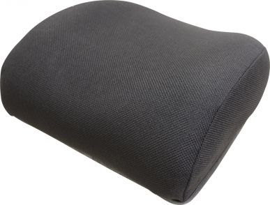 Backrest, Black Fabric