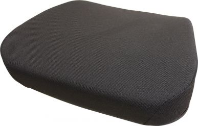 Seat Cushion, Black Fabric