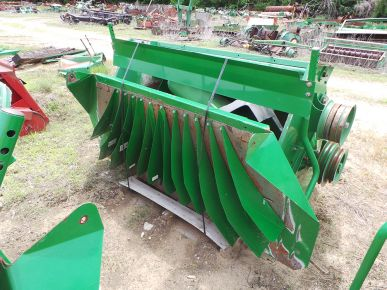 Used Straw Chopper with New Blades