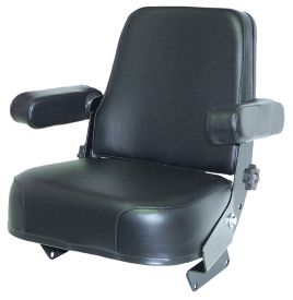 Replacement Seat Assembly, Black Vinyl