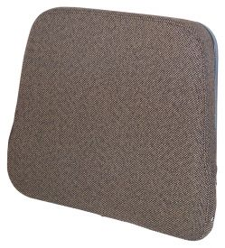 Backrest, Brown Fabric