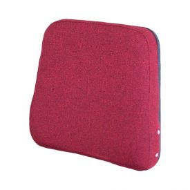 Backrest, Red Fabric