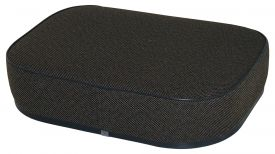 Deluxe Seat Cushion, Brown Fabric