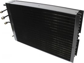 Condenser with Dual Oil Cooler