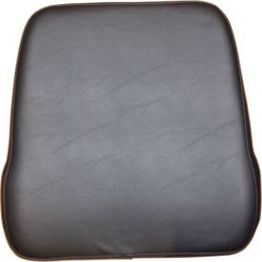 Seat Back, Black Vinyl