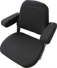 Replacement Seat Assembly, Black Fabric