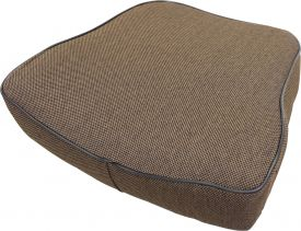 Deluxe Backrest, Brown Fabric