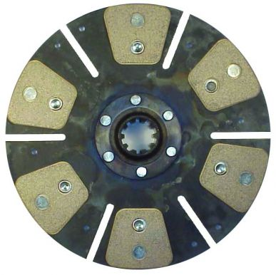 Remanufactured Clutch Disc, 6 Pad