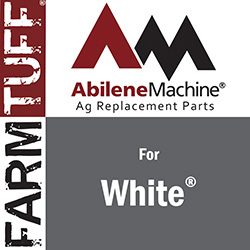 White tractors require dependable maintenance and service.