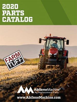 Abilene Machine 2020 Parts Catalog Cover